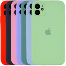Чехол Silicone Case Full Camera для Apple iPhone 11 (6.1)