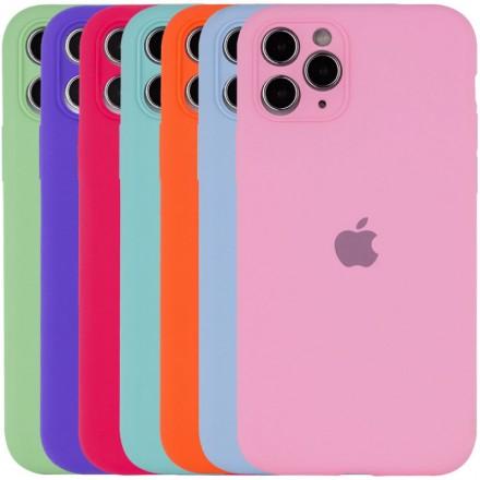 "Чехол Silicone Case Full Camera для Apple iPhone 11 Pro Max (6.5"") c защитой камеры"