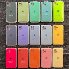 Чехол Silicone Case Full Camera для Apple iPhone 12 серии