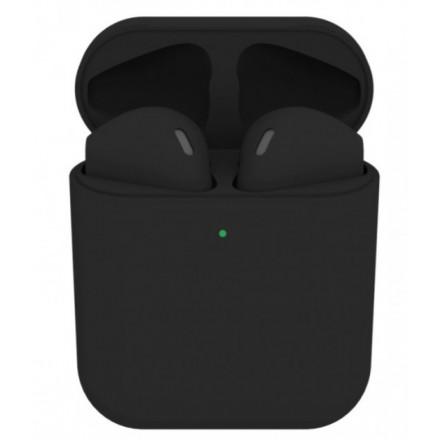 Копия Apple AirPods2 Colors black Matte (Черные Матовые) - Лучшее качество, совместимы со всеми устройствами iOS, Android