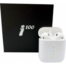 Беспроводные Bluetooth наушники i100-TWS белые