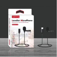 Петличный микрофон Lavalier GL-120 Lightning для iPhone / iPad