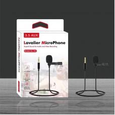 Проводной микрофон Professional Lavalier GL-119, Jack 3.5 мм