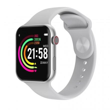 Смарт Часы Smart Watch F10 - (Сменный ремешок, беспроводная зарядка, Защита от воды)
