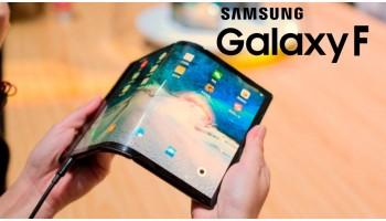 Samsung - показали на промо ролике гибкий смартфон
