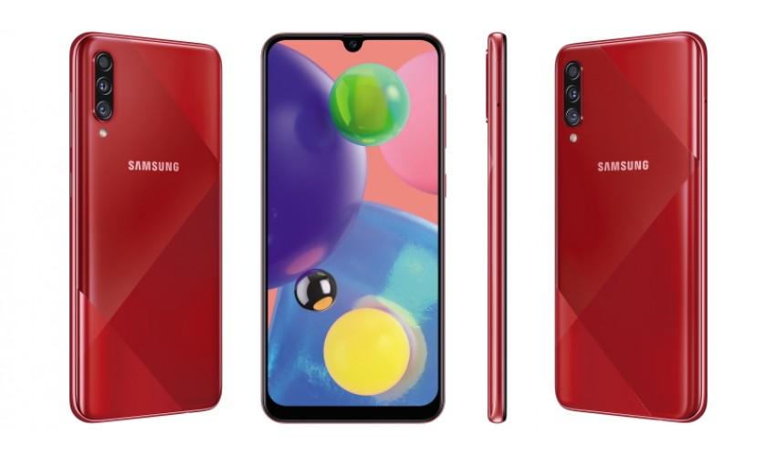 Смартфон Samsung Galaxy A70s с обновленным дизайном дополнил линейку A-Series